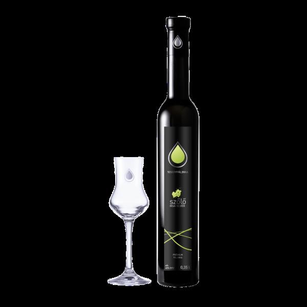Irsai Olivér szőlő 0,35l
