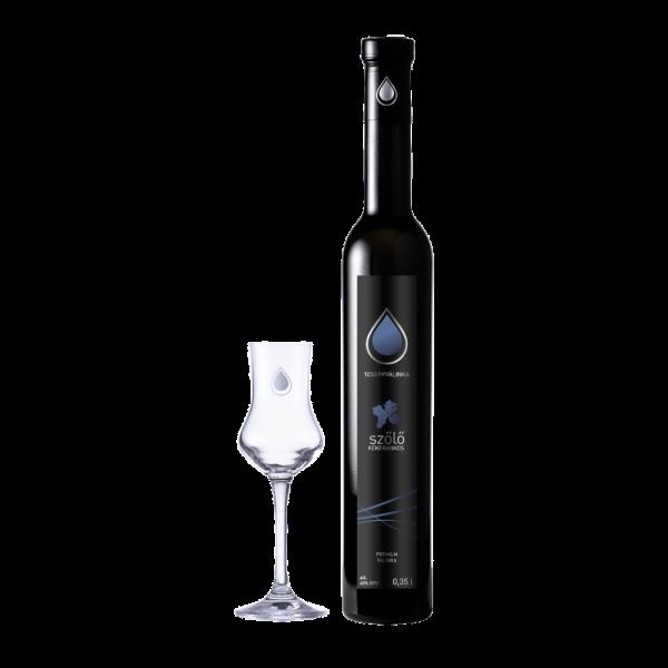 Kékfrankos szőlő 0,35l